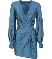 amen enver satin dress