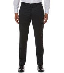 armani exchange men's slim-fit gray solid suit separate pants
