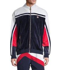fila men's lamar track jacket - peacoat - size l