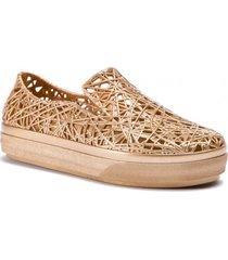 zapatos melissa dorado campana sneaker ad