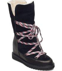 stb-fara snow boot höga stövlar svart shoe the bear