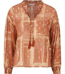 blus aganacr blouse