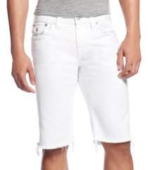 "true religion men's relaxed 13"" stretch shorts"