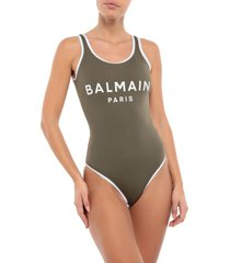 balmain one-piece swimsuits