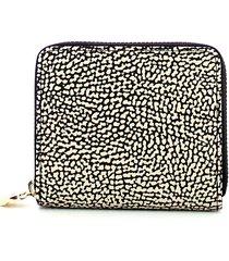 borbonese womens brown wallet