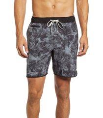 men's vuori banks hybrid shorts, size large - black