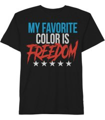 hybrid men's my favorite color is freedom t-shirt