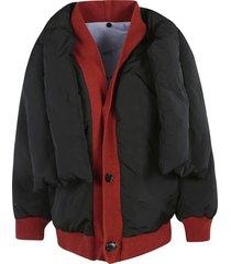 marni reversible down jacket