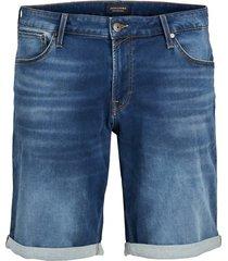 jack & jones korte jeans plus size blauw