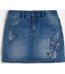 denimowa spódnica mini