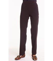 czarne spodnie z gumką w pasie