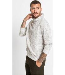 sweater met sjaalkraag