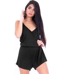 macaquinho up side wear básico preto
