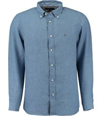 overhemd indigo