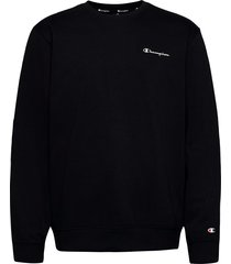 crewneck sweatshirt sweat-shirt tröja svart champion
