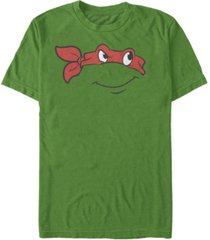 nickelodeon teenage mutant ninja turtles raphael big face short sleeve t-shirt