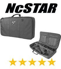 "ncstar vism 26"" padded discreet carbine .223 5.56 rifle gun case - urban gray"