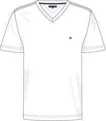 camiseta manga corta classic cotton v neck blanco tommy hilfiger