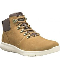 zapatilla  boltero leather hiker café timberland