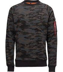 x-fit sweat sweat-shirt tröja svart alpha industries