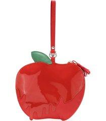 sarah chofakian bolsa maçã do amor - vermelho
