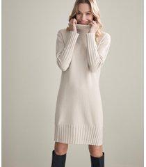 abito dolcevita cashmere