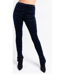 akira 2.0 stacked velvet legging
