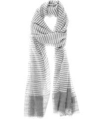 pañuelo rayas gris i-d