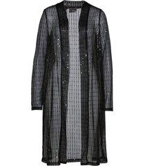 cardigan in jersey lungo (nero) - bpc selection premium