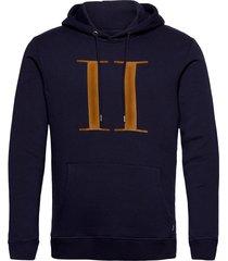 encore hoodie hoodie trui blauw les deux