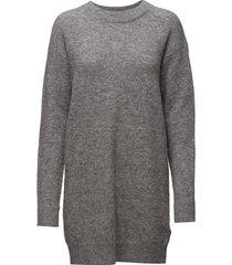 nor o-n dress 7355 korte jurk grijs samsøe samsøe