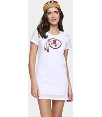vestido new era nfl mesh washington redskins