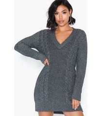 ivyrevel metallic cable knit dress loose fit dresses