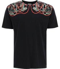 marcelo burlon handsfaces print t-shirt
