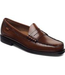 gh weejun ii larson moc penny loafers låga skor brun g.h. bass