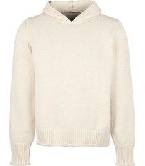 jacquemus cotton knit hoodie