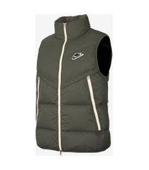 colete nike sportswear down-fill windrunner shield masculino