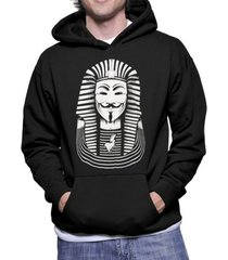 moletom criativa urbana anonymous faraó nerd geek