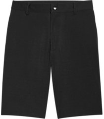 msx by michael strahan modern fit activewear shorts black