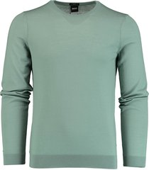 hugo boss pullover leno-p turquoise sf 50378575/332