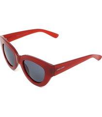 óculos de sol hang loose power vermelho - kanui