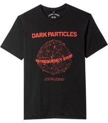 camiseta john john dark particles masculina (preto, gg)