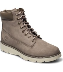 keeley field 6in shoes boots ankle boots ankle boot - flat grå timberland