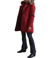 superdry women's rookie down parka coat