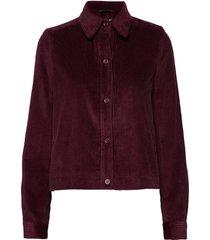 angela cord jacket zomerjas dunne jas rood twist & tango
