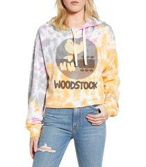 women's recycled karma woodstock tie dye hoodie