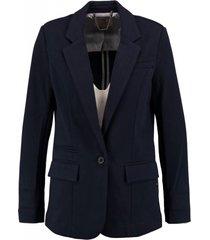 garcia stevige blauwe texture blazer