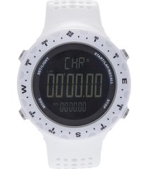 reloj  blanco columbia
