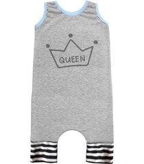 pijama regata comfy queen cinza