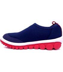 zapatilla azul bibi roller 2.0